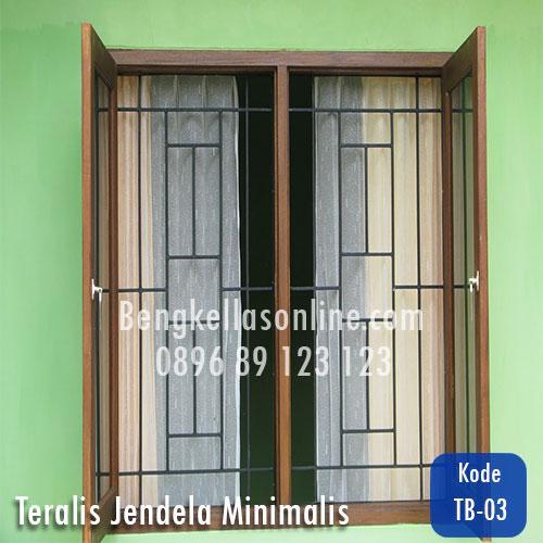 Harga Dan Model Teralis Jendela Minimalis Bengkel Las Online