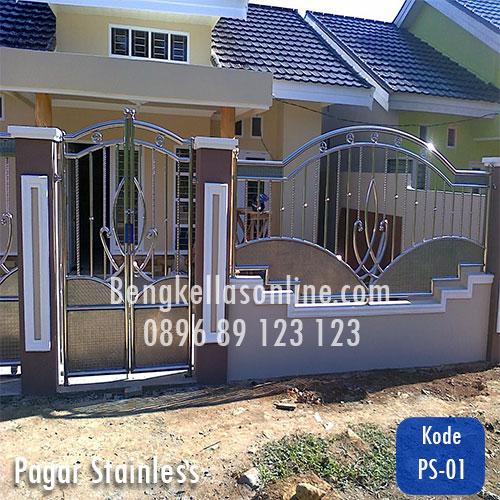 pagar stainless, harga pagar stainless, pagar rumah, harga pagar rumah,harga pagar stainless per meter,pagar stainless minimalis