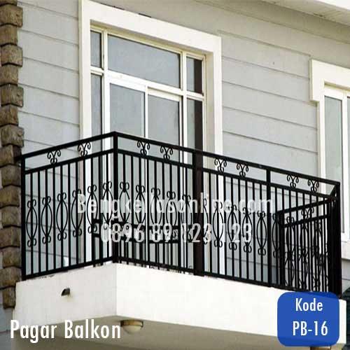 Harga Dan Model Pagar Balkon Bengkel Las Online Harga Murah