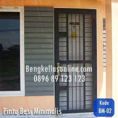 Harga Dan Model Pintu Besi Minimalis Bengkel Las Online Harga