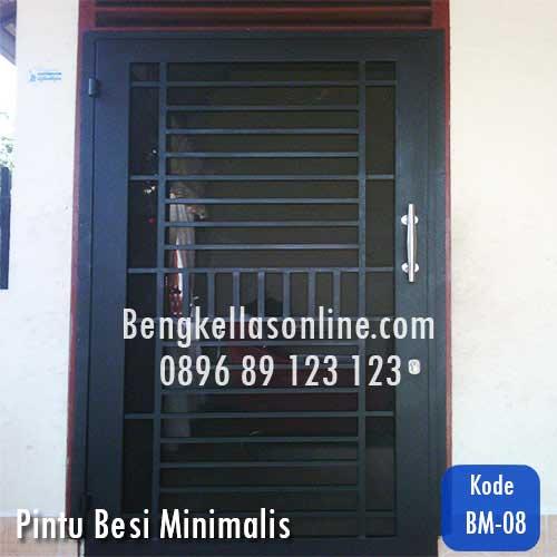 pintu besi minimalis,harga pintu besi minimalis,harga pintu besi,pintu besi