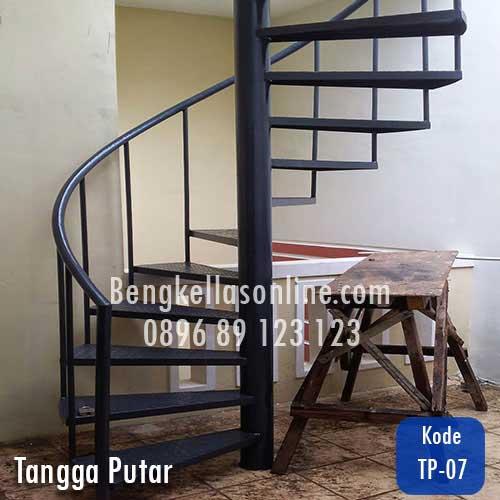 harga tangga putar, tangga putar