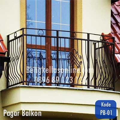 Harga Pagar Balkon Murah Dan Model Elegan Minimalis