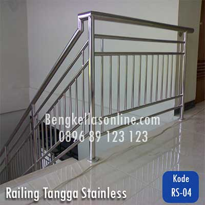 railing tangga stainless