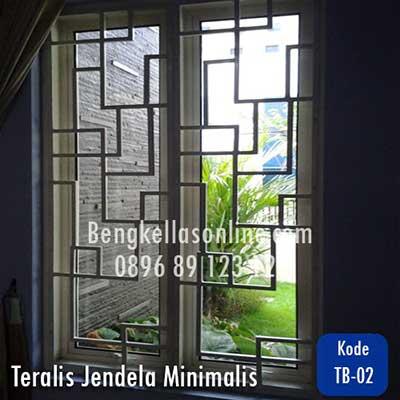 teralis jendela besi
